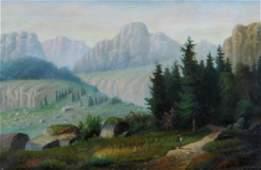 Keith William (American 1838-1911); Landscape