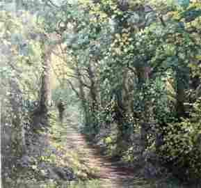 Anne Briggs  (British 20th c); Forest Paths