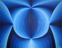 Kluchik Steven (Hungarian born 1946) - Double Vision