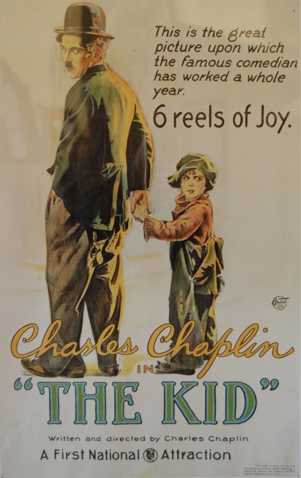 "9: Orig. Poster ""The Kid""; size: 20""x28"""