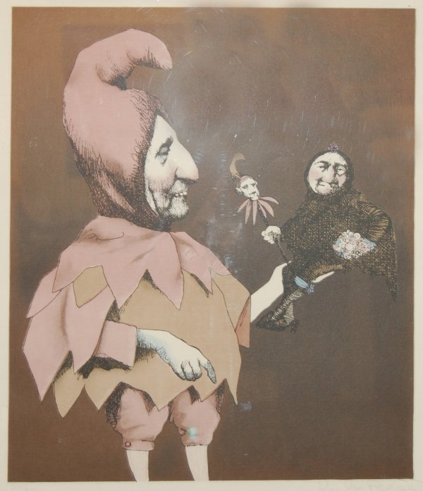 14: Fools Fool by C. Bragg (1931); original lithograph;