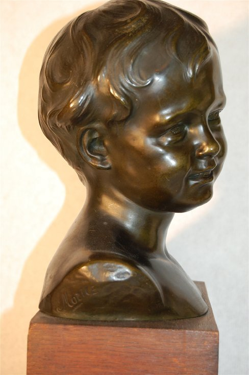 2232:  Head Of The Boy by Morice ( 1818- 1883); Media: