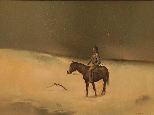 """3020: """"Homeward Bound""""; Oil on canvas by Bodner Joseph;"""