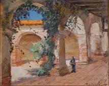 David Tauszky (American 1878 - 1972), San Juan