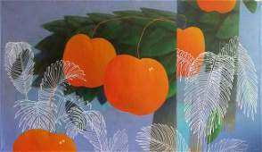 """Jorge Vallejos (Peru 1965)  """"Naranjito"""""""
