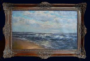 Charles Henry Gifford (American 1839 - 1904) - Seascape