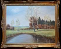 Harwood Steiger (American 1900 - 1980) - Landscape
