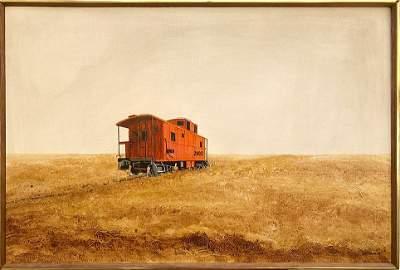 Patricia STRIGHT oil on canvas