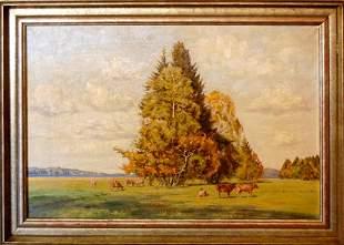 Alfred Thielemann (German 1883 - 1939) - Pasture