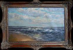 signed C. H Gifford - Seascape