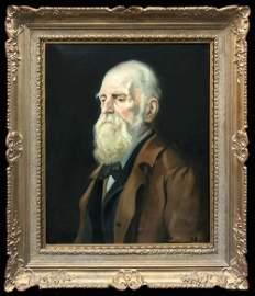 William Bradford (American 19th c) - Self-Portrait