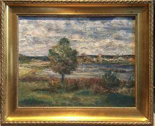 Stepan Kolesnikov (Russian 1879-1955) - Landscape