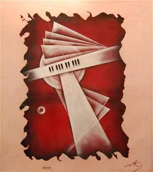 Paul-Louis Rebora (French 20th c) - Scherzo