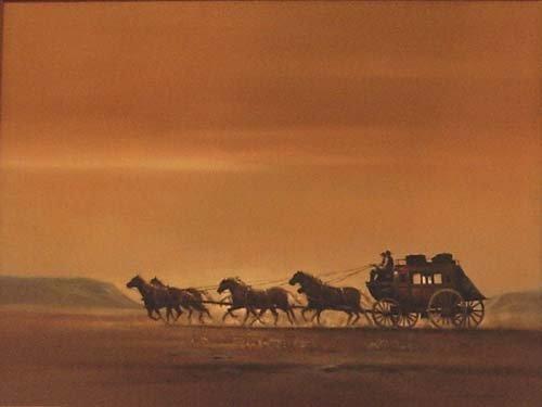 """14: Bodner Joseph (American 1925-1982)  """"Horse Carr"""