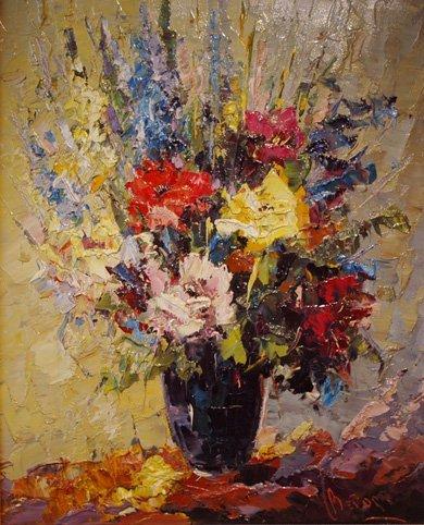 "19: Bevort Johan H. Hendrick,(Dutch  1917-1996) ""Impres"