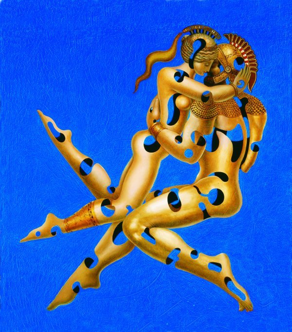 228: Hovik Kochinian  (born 1953) '' Loves Philosophy''