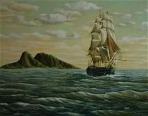 """288: Kirwan (American 20 th century) """"To the island"""", o"""