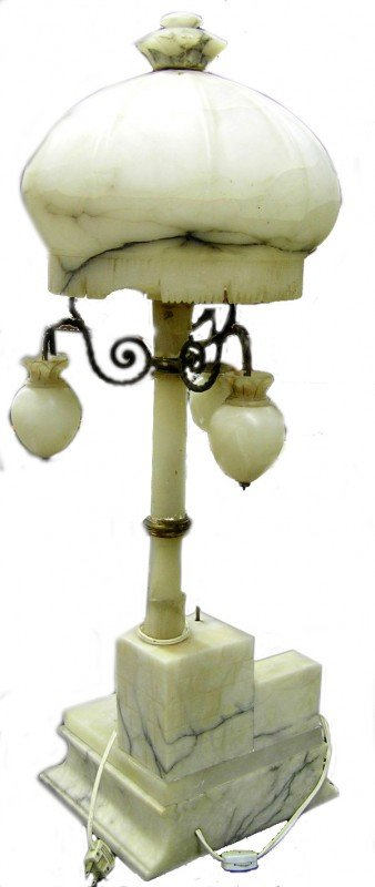 22: Marble Dome lamp