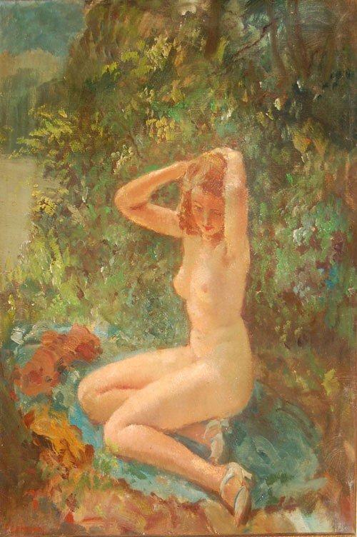 4: after Frieseke Frederick Carl (American 1874 - 1939)