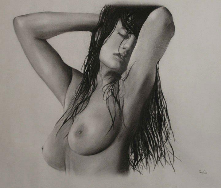 """5: YanLei (Chinese 2oth c)  """"Nude"""""""