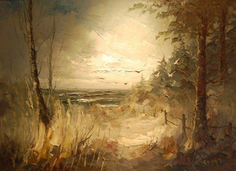 "3: Bevort Johan H. Hendrick (Dutch 1917-1996) ""Serenity"