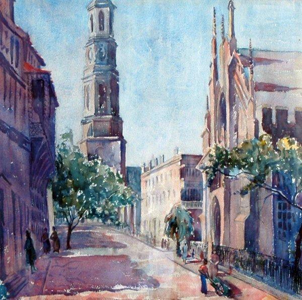 7: Henoch Stella (American 20th century) ''Church Stree