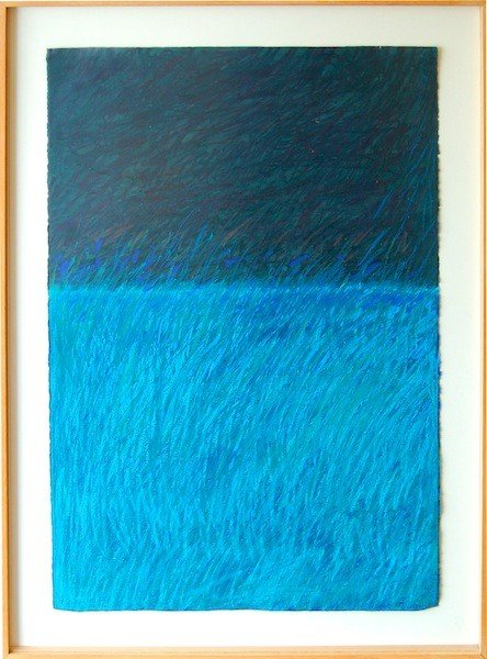 19: Lamosse Jeanne (American) untitled # 4586, oil and