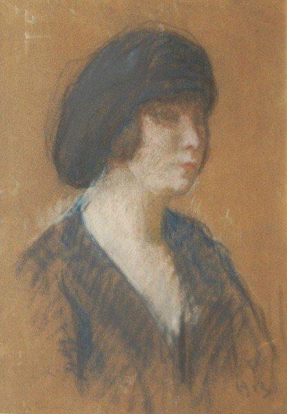 "23: Kronberg Louis (American 1872-1965) ''Portrait"", pa"