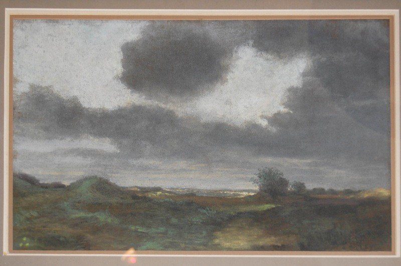 "25: Sisley Alfred (British 1839 –1899) ""Landscape"", pas"