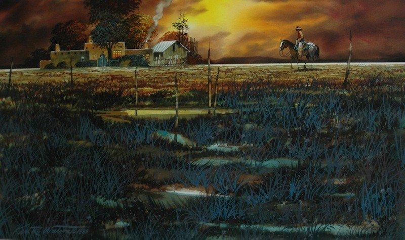 74: Watson Ken R. (American born 1933) watercolor, fram