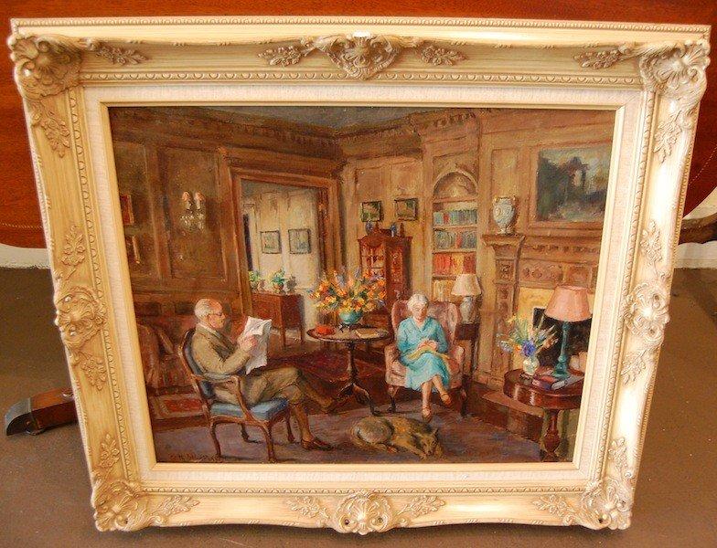 "80: Phelps Edith Catlin (American 1879-1961) ""The Room"" - 2"