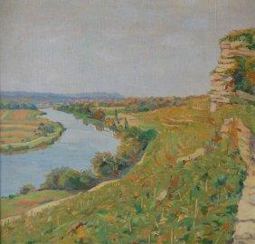 Denzel Anton (German 1888-1962) �Landscape I�