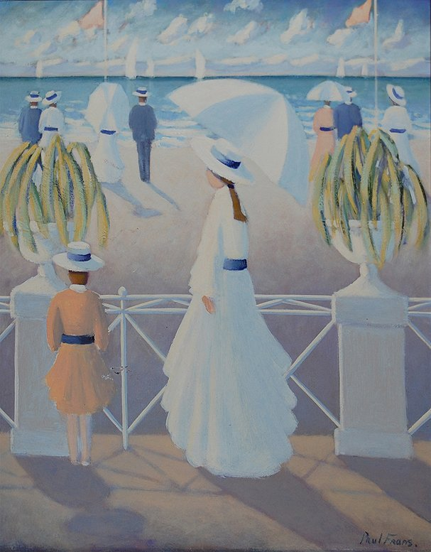 "35: Frans Paul (French 1958) ""White Harmony"""