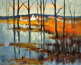 Lemaitre Maurice (French1929-) �Countryside Landsca