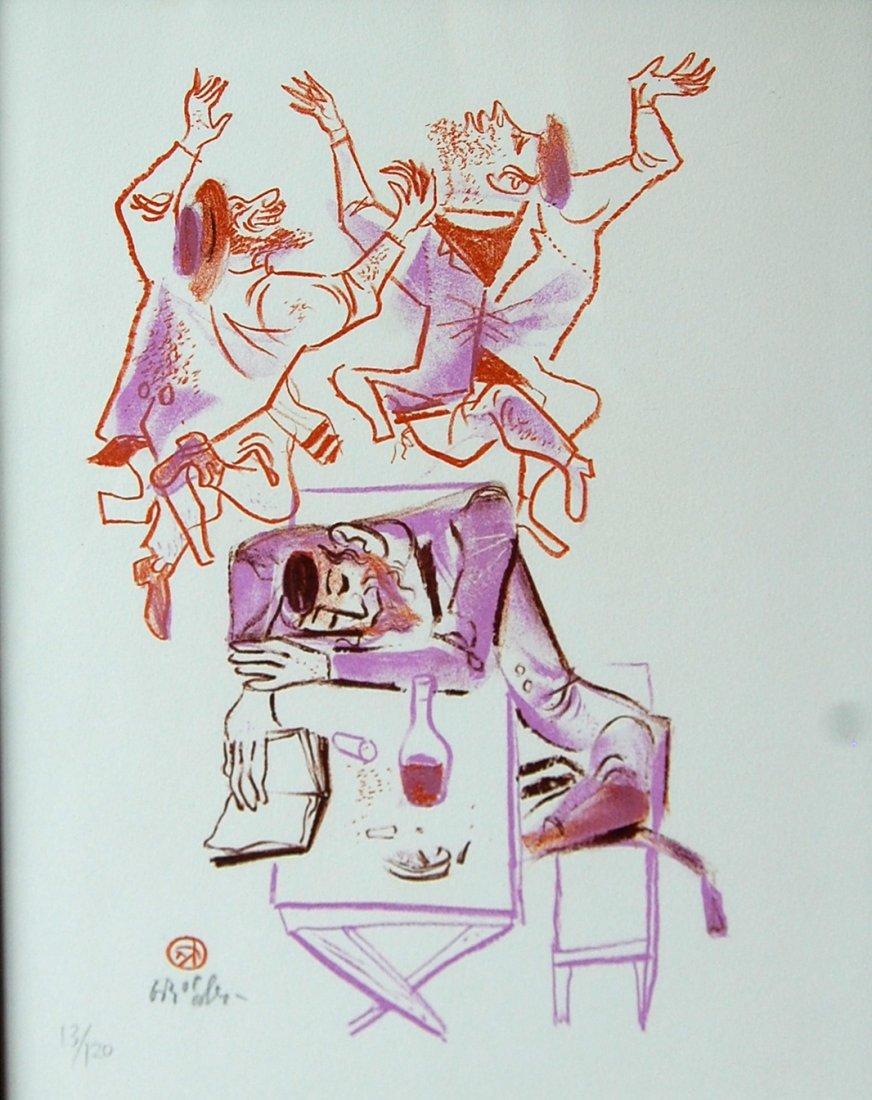 """73: Gropper William  (American 1897-1977) """"untitled"""" li"""