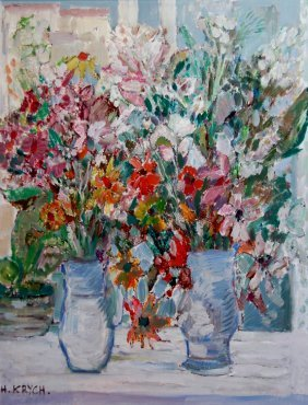 Krych Henryk (Polish 1905-1980) �Still Life�