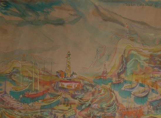 "86: Longstreet Stephen (American 1907-2002)  ""Marina"""