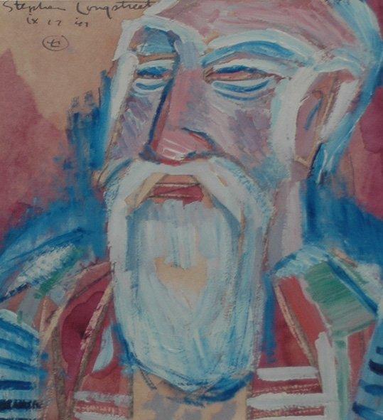 """87: Longstreet Stephen (American 1907-2002)  """"Teacher I"""