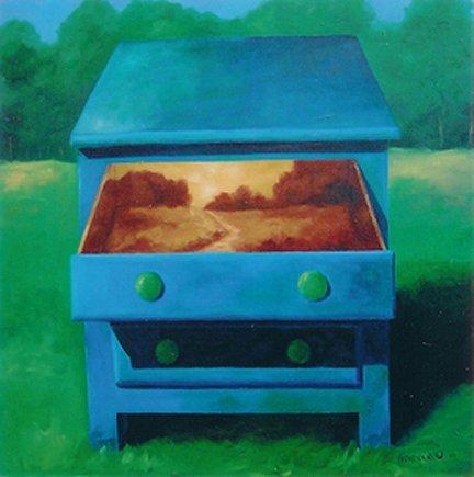 93: Niewoehner Everett (American born 1939) ''Autumn In