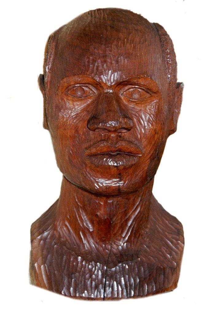 111: Gross Chaim (1904-1991) ''Portrait of African''