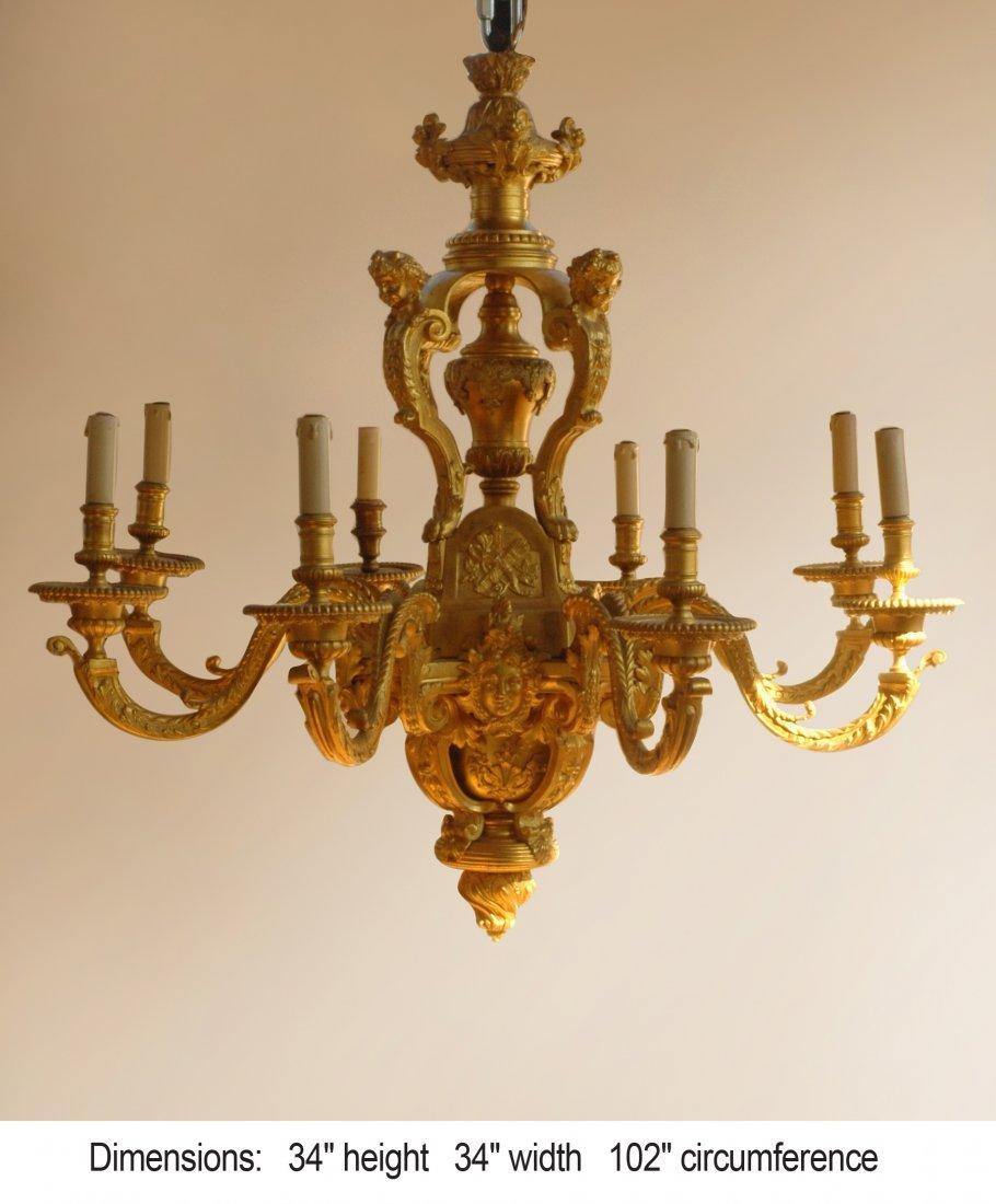 188: Circa Louis XV Chandelier