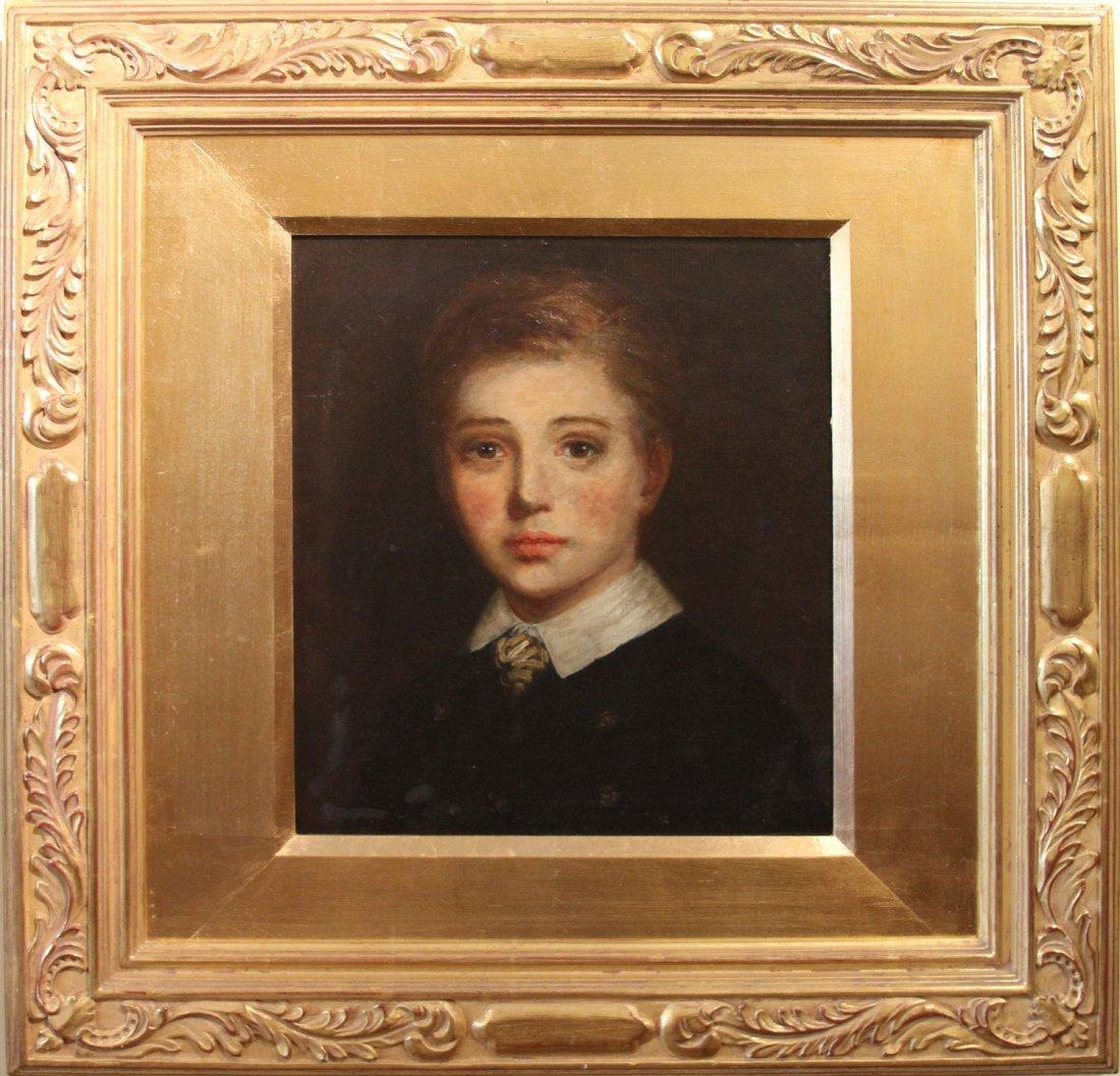 "1: Sr. Geraldine Wayne ""Portrait of a boy"""