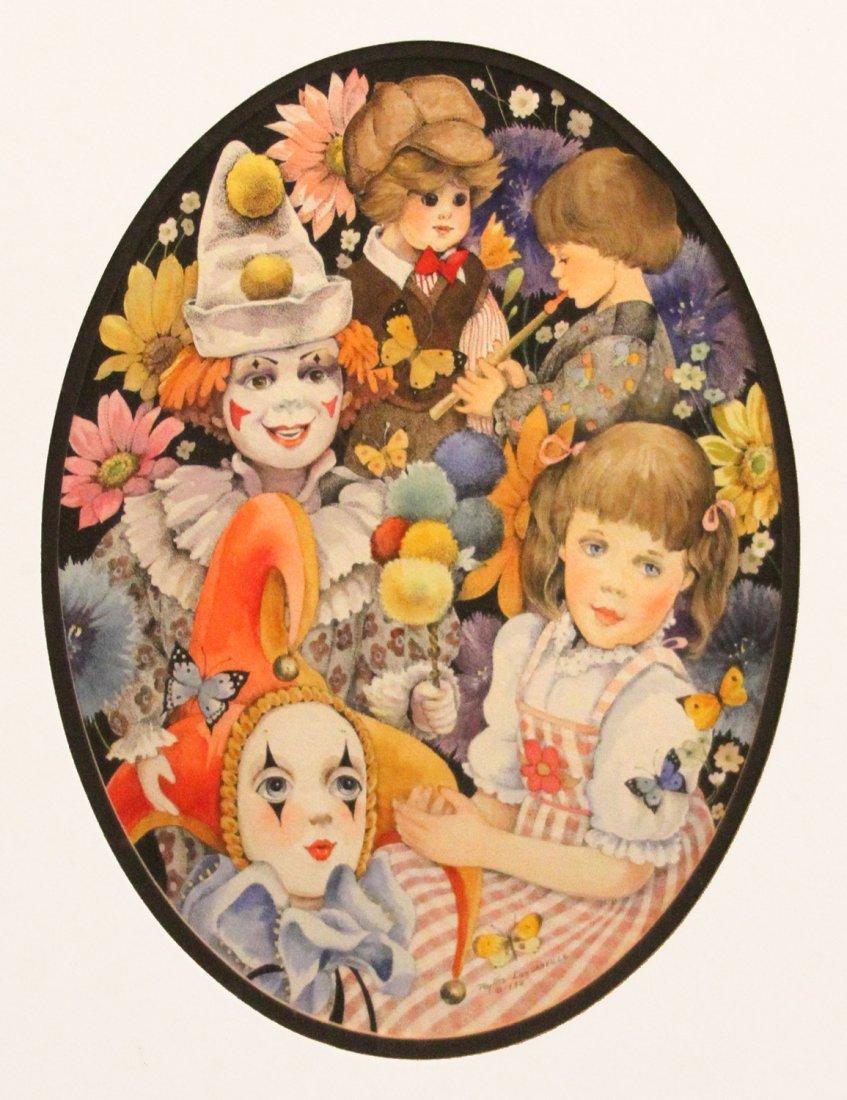 "Londraville Phyllis (American 20th c) ""Spring Fancy"""