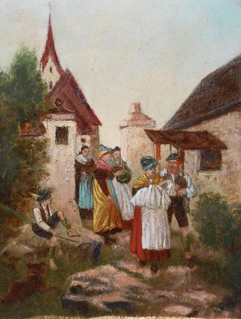 """15: Hagenauer R (Dutch 19/20c) """"The Village"""""""