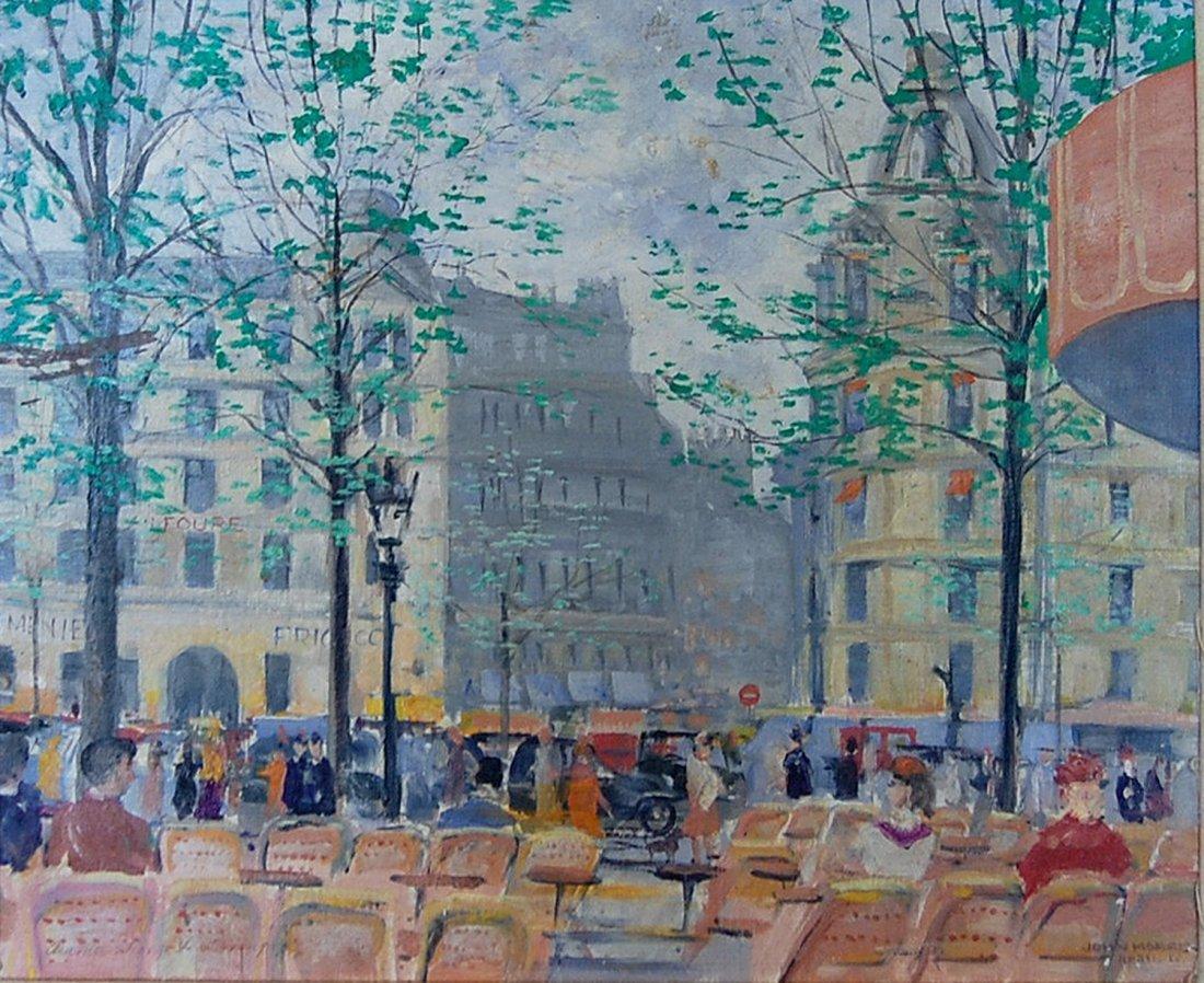 "20: Morris John (American 1920-1991) ""Avenue George V"""
