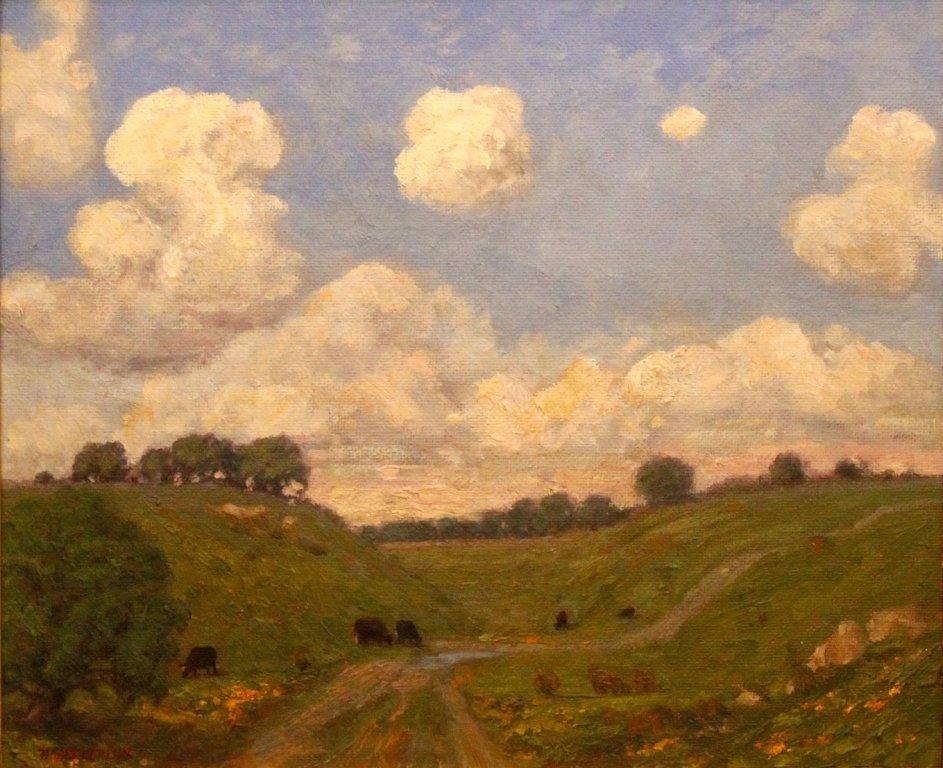 """Westerling Dennis (American 1944- ) """"Near Sutter Creek"""""""