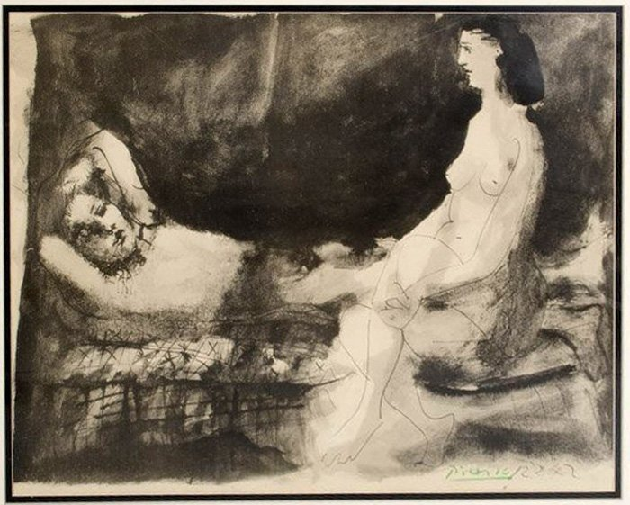 Picasso Pablo (Spain 1881-1973) lithograph