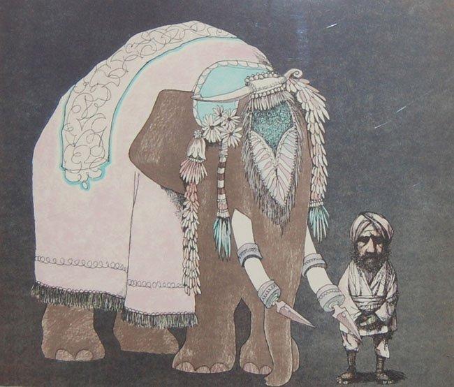 "Bragg Charles (American 1931) ""Elephant Man"""