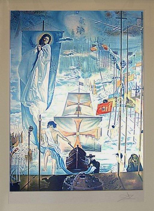 """Dali Salvador """"Discovery of America"""""""