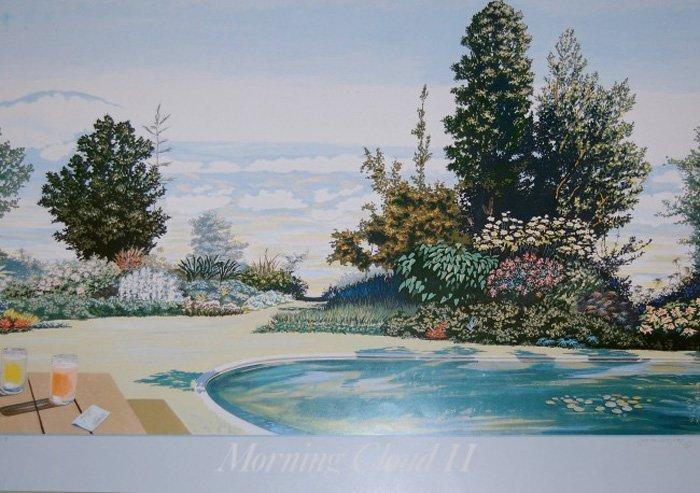 """Duffey Jeane (British 1927-2007) """"Morning Cloud II"""""""